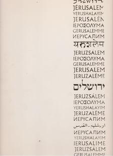 Hecht, Reuben (szerk.), Korén, Eliyahu (szerk.) - Jerusalem [antikvár]