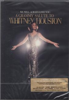 WE WILL ALWAYS LOVE YOU DVD  - A GRAMMY SALUTE TO WHITNEY HOUSTON -