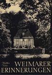 WALTHER VICTOR - Weimarer Erinnerungen [antikvár]