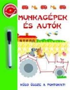 - Munkagépek és autók - Kösd össze a pontokat!