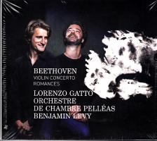 BEETHOVEN - VIOLIN CONCERTO - ROMANCES CD LORENZO GATTO