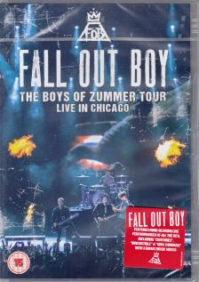 - THE BOYS OF ZUMMER TOUR, LIVE IN CHICAGO - FALL OUT BOYS DVD