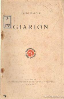 Csató Károly - Giarion [antikvár]