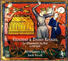 - ESTAMPES & DANSES ROYALES - LE MANUSCRIT DU ROI 1270-1320 SACD SAVALL