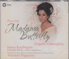 Puccini - MADAMA BUTTERFLY 2CD PAPPANO, GHEORGHIU, KAUFMANN, SHKOSA, CAPITANUCCI