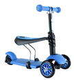 - Y Glider 3 az 1-ben Multifunkciós Roller kék