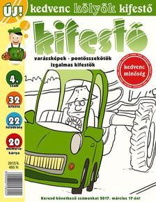 CSOSCH KIADÓ - Kedvenc Kölyök Kifestő 4.