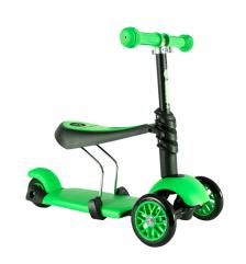 Y Glider 3 az 1-ben Multifunkciós Roller zöld