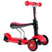 - Y Glider 3 az 1-ben Multifunkciós Roller piros