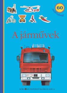 - A járművek - matricás foglalkoztatókönyv60 matricával