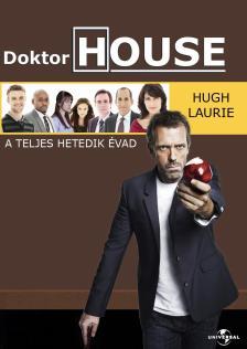 - DOKTOR HOUSE A TELJES HETEDIK ÉVAD DVD
