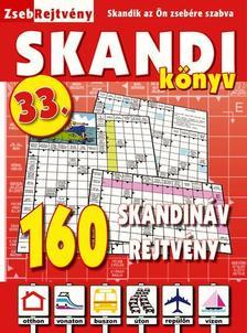 CSOSCH KIADÓ - ZsebRejtvény SKANDI Könyv 33.