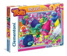 NINCS SZERZŐ - Clementoni Puzzle 60 Trollok, éneklés