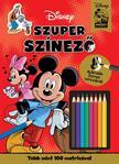 NINCS SZERZŐ - Disney - Mickey egér - Szuper színező<!--span style='font-size:10px;'>(G)</span-->