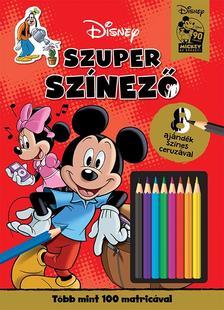 - - Disney - Mickey egér - Szuper színező