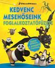 - DWA Kedvenc mesehőseink foglalkoztatófüzete 2. - Kung Fu Panda, Madagaszkár pingvinjei, Dragons