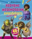 - DWA Kedvenc mesehőseink kifestőfüzete matricákkal 1. - Home, Shrek, Madagaszkár