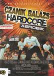 CZANIK BALÁZS - HARDCORE AEROBIC [DVD]
