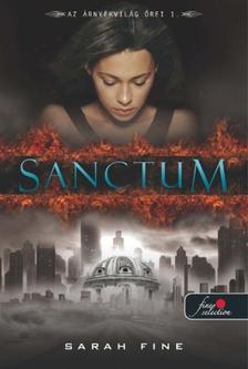 Sarah Fine - Sanctum - PUHA BORÍTÓS