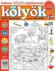 CSOSCH KIADÓ - Kedvenc Kölyök Foglalkoztató 35.