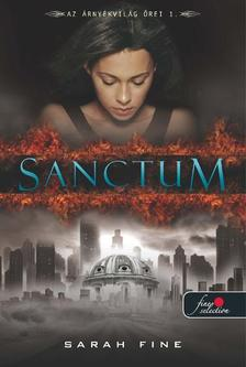 Sarah Fine - Sanctum - KEMÉNY BORÍTÓS