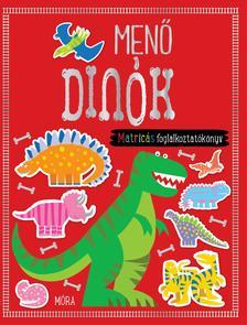 . - Menő dinók - matricás foglalkoztatókönyv