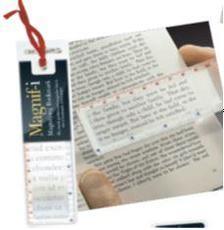 IF - Magnifying Bookmark, nagyitós könyvjelző