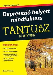 Robert Gebka - Tantusz könyvek - Depresszió helyett mindfulness