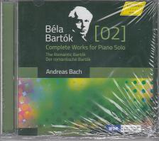 BARTÓK BÉLA - COMPLETE WORKS FOR PIANO SOLO CD ANDREAS BACH