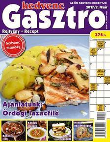 CSOSCH KIADÓ - Kedvenc Gasztro rejtvénylap 2017/2.