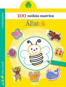 .- - 100 mókás matrica - Állatok