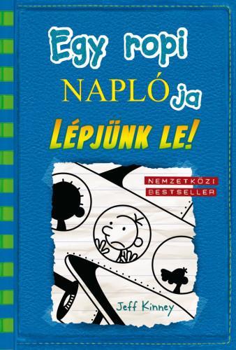 9789634572411 - Jeff Kinney: Egy ropi naplója 12. Lépjünk le! - Könyv