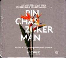 Bach - BRANDENBURG CONCERTOS NOS.1-6 2CD PINCHAS ZUCKERMAN