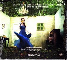 KHACHATURIAN, PROKOFIEV - PIANO CONCERTOS CD NAREH ARGHAMANYAN