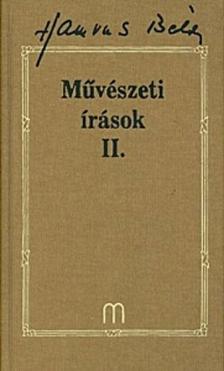 HAMVAS BÉLA - Művészeti írások II.