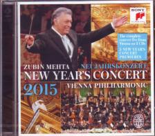 - NEW YEARS'S CONCERT 2015  2CD ZUBIN MEHTA