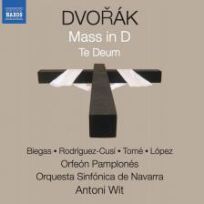 DVORAK - MASS IN D - TE DEUM CD ANTONI WIT
