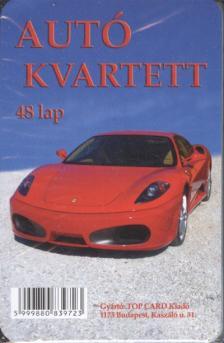 _ - Autó kvartett - kártya