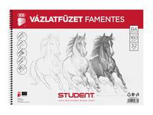 7500117002 - STUDENT VÁZLATFÜZET FAMENTES B4