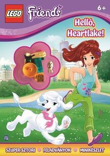 - LEGO FRIENDS - Hello Heartlake! + ajándék minifigurával