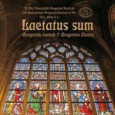 Gregorian Társaság - LAETATUS SUM - (VI. VÁCI NEMZETKÖZI GREGORIÁN FESZTIVÁL) CD
