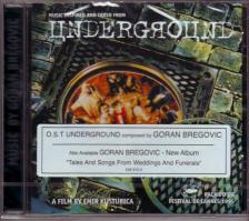 GORAN BREGOVIC - UNDERGROUND CD SOUNDTRACK