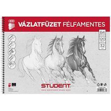 7500117003 - STUDENT VÁZLATFÜZET FÉLFAMENTES B4