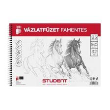7500118002 - STUDENT VÁZLATFÜZET FAMENTES B5