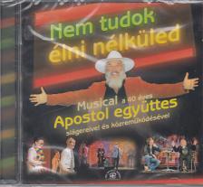 VAJDA ANIKÓ-SOPRONI PETŐFI SZ. - NEM TUDOK ÉLNI NÉLKÜLED CD MUSICAL 40 ÉV SLÁGEREIVEL ÉS KÖZREMÜKÖDÉSÉVEL
