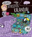 Jane Gledhill - Amelia útvesztős kalandjai - Lonely Planet foglalkoztató könyv