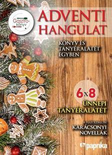 . - ADVENTI HANGULAT - Könyv és tányéralátét egyben