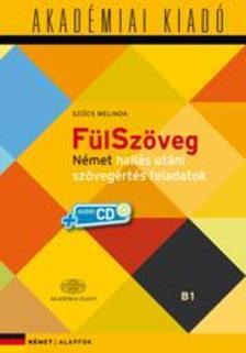FülSzöveg Német hallás utáni szövegértés B1- virtuális melléklettel