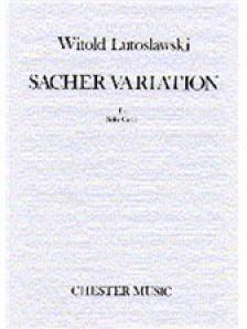 LUTOSLAWSKI, WITOLD - SACHER VARIATION FOR SOLO CELLO