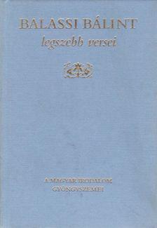 BALASSI BÁLINT - Balassi Bálint legszebb versei [antikvár]